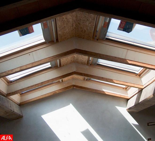 tetto lucernaio impianti edilizia firenze alfaedil preventivi